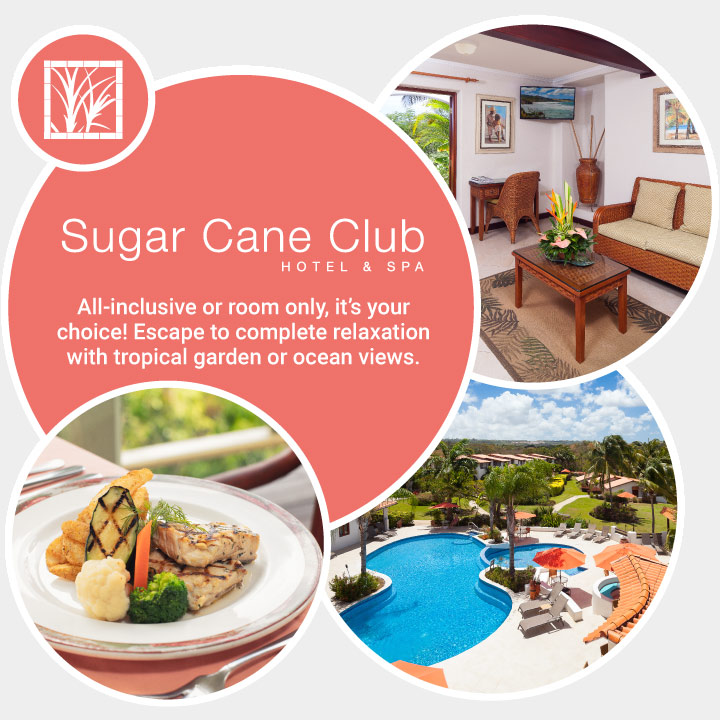 sugar cane club amenities bubble